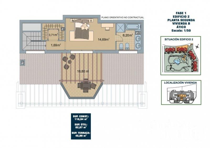 SEGUNDA B 2 dorm duplex planta arriba