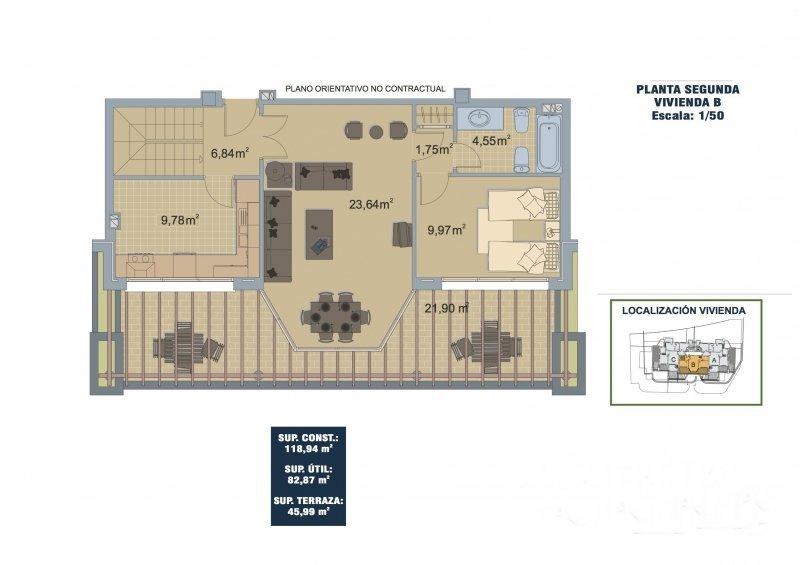 SEGUNDA B 2 dorm Duplex planta baja