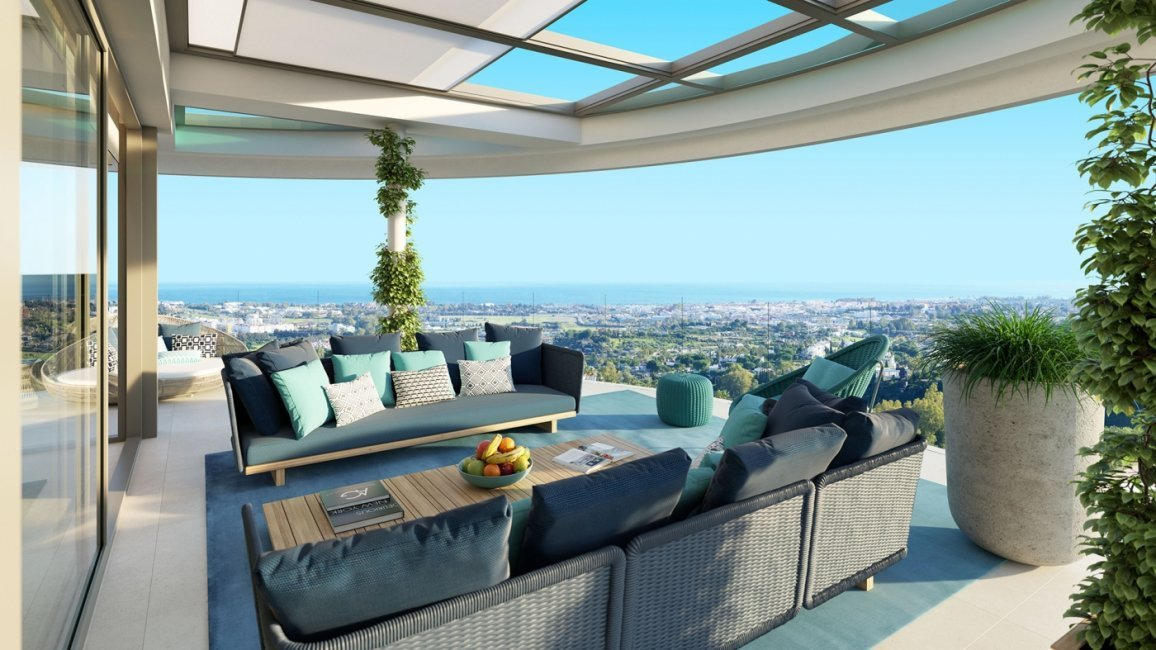 The_View_Marbella_Terrace Sea Views